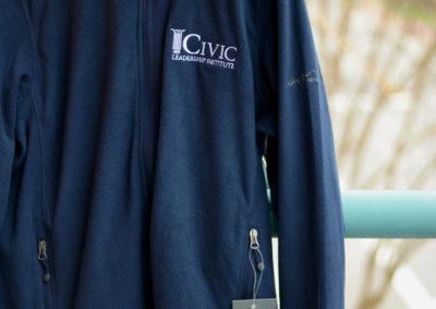 Eddie Bauer® Full-Zip Microfleece Jacket in Navy