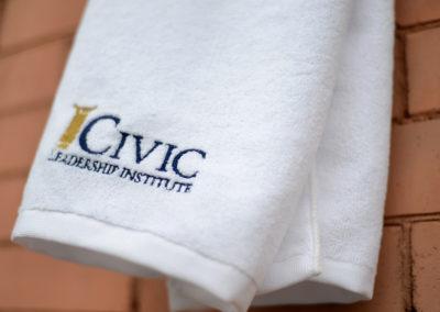 Port Authority® Microfiber Golf Towel, White
