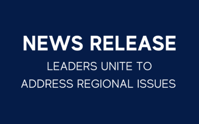 LEADERS UNITE TO ADDRESS REGIONAL ISSUES