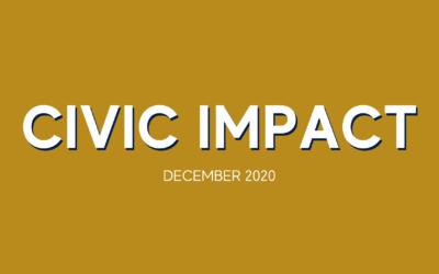 CIVIC IMPACT | December Newsletter