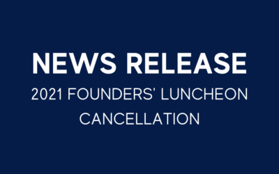 2021 Founders' Luncheon Cancellation
