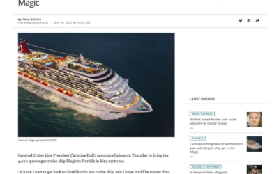State of the Cruise Industry – NEws Coverage